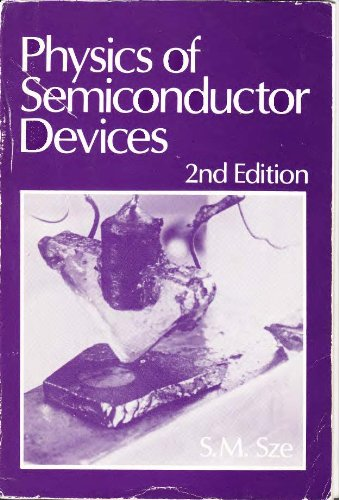 9780471098379: Physics of Semiconductor Devices: 2nd Ed