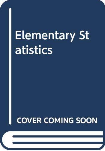 9780471098652: Elementary Statistics