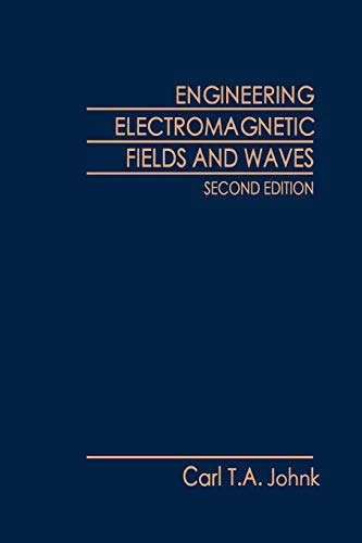 9780471098799: Engineering Electromagnetic Fields and Waves