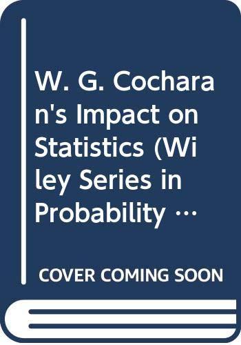 W.G.Cochran's Impact on Statistics: Poduri, S. R.