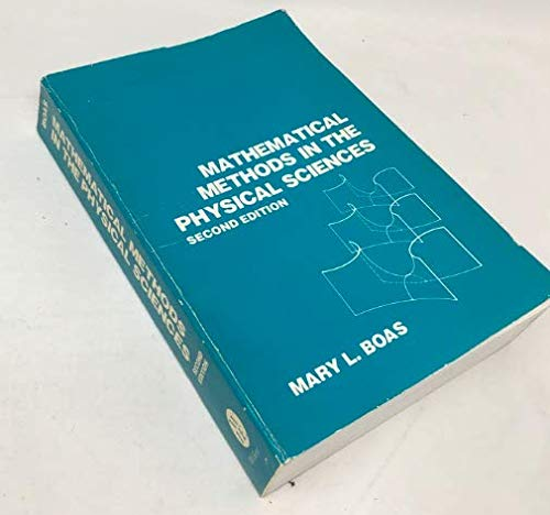 9780471099604: Mathematical Methods in the Physical Sciences
