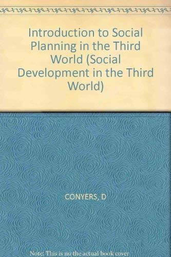 9780471100430: An Introduction to Social Planning in the Third World (Social Development in the Third World)