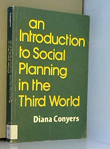 9780471100447: Introduction to Social Planning in the Third World (Social Development in the Third World)
