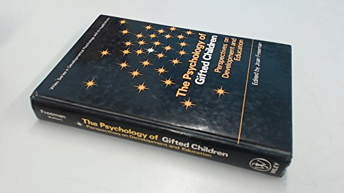9780471102557: The Psychology of Gifted Children: Perspectives on Development and Education (Wiley Series in Developmental Psychology and Its Applications)