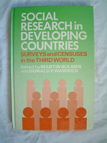 9780471103523: Social Research in Developing Countries: Surveys and Censuses in the Third World (Social Development in the Third World)