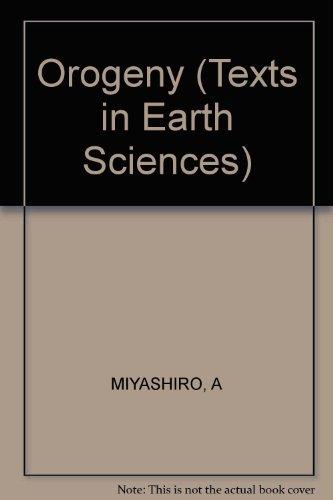 Orogeny by Keiiti Aki A M Sengor and Akiho Miyashiro 1982 Hardcover