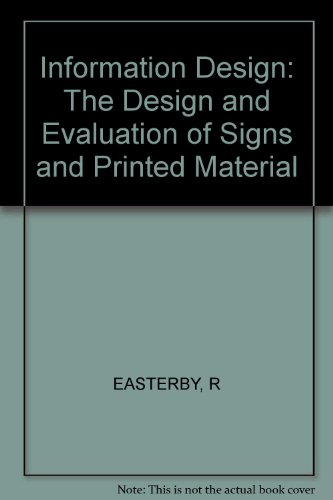 9780471104315: Information Design: The Design and Evaluation of Signs and Printed Material