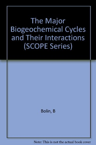 9780471105220: The Major Biogeochemical Cycles and Their Interactions (SCOPE Report)