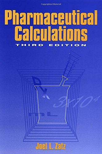 9780471106234: Pharmaceutical Calculations