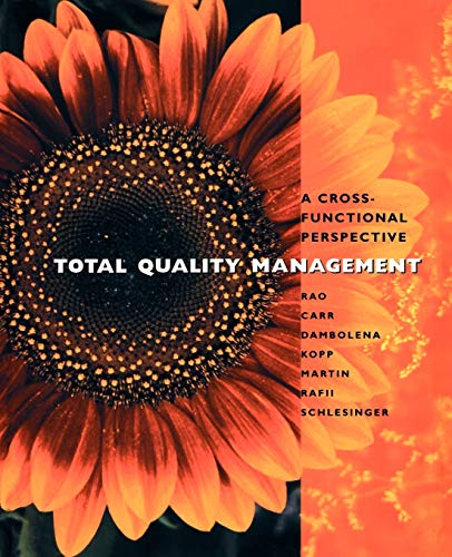 9780471108047: Total Quality Management
