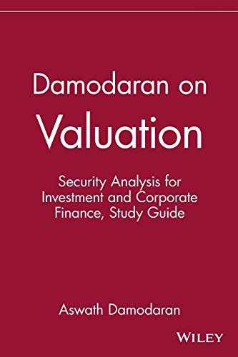 9780471108979: Damodaran on Valuation, Study Guide: Security Analysis for Investment and Corporate Finance