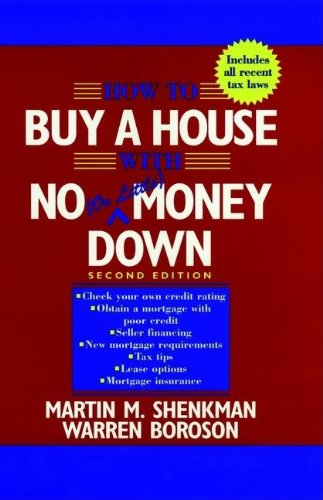 9780471109211: How to Buy a House with No (or Little) Money Down