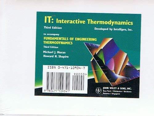9780471109341: Fundamentals of Engineering Thermodynamics