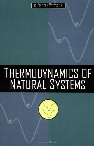 9780471109433: Thermodynamics of Natural Systems