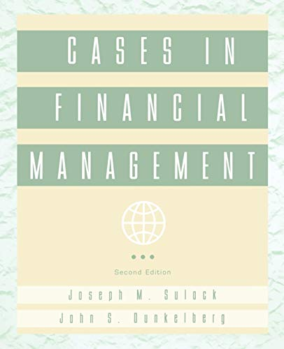 9780471110439: Cases in Financial Management, 2nd Edition