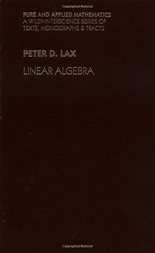 9780471111115: Linear Algebra