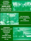 9780471111177: Applied Calculus, Student Solutions Manual: For Business, Social Sciences and Life Sciences, Preliminary Edition