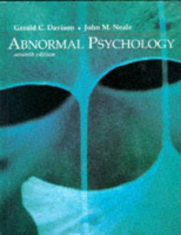 9780471111221: Abnormal Psychology