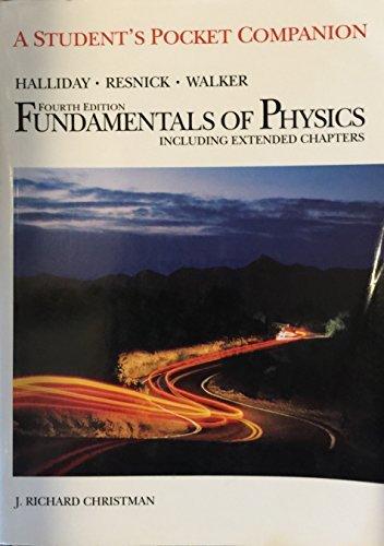 9780471111740: Fundamentals of Physics, Pocket Companion