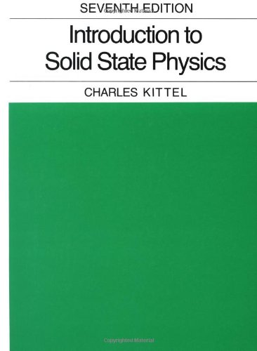 9780471111818: Introduction to Solid State Physics