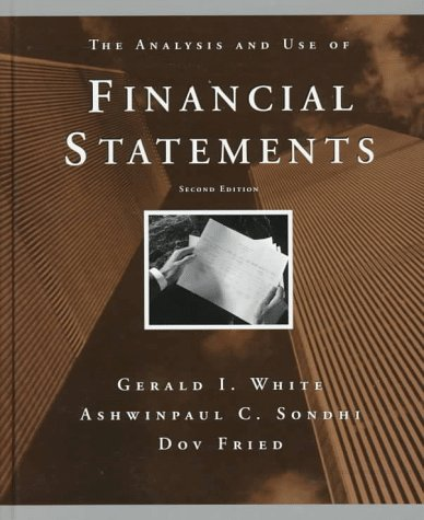 9780471111863: The Analysis and Use of Financial Statements