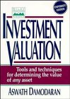 9780471112136: Investment Valuation: Tools and Techniques for Determining the Value of Any Asset (Wiley Frontiers in Finance)