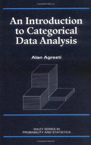 Introduction to Categorical Data Analysis (Wiley Series: Alan Agresti