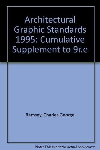 9780471114727: Architectural Graphic Standards, 1995 Supplement