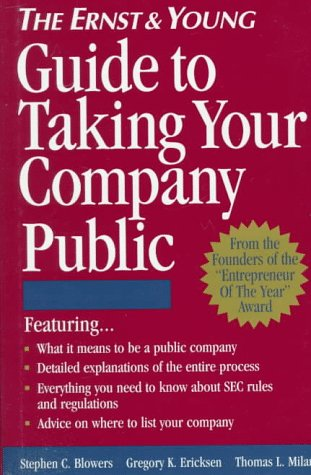 9780471114734: The Ernst & Young Guide to Taking Your Company Public