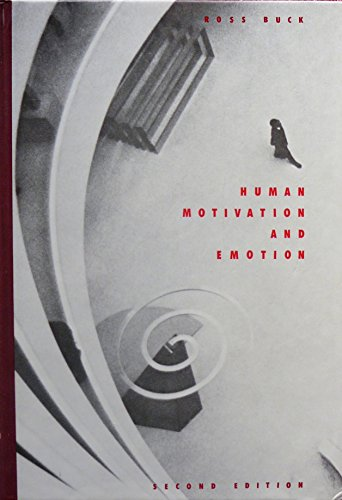 9780471115700: Human Motivation and Emotion