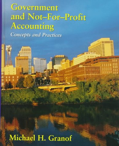 9780471115885: Government and Not-for-Profit Accounting: Concepts and Practices