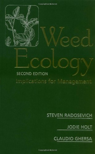 9780471116066: Weed Ecology: Implications for Management