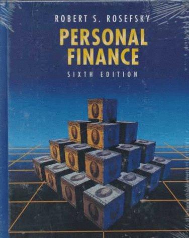 9780471116202: Personal Finance