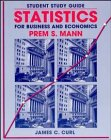 9780471116783: Statistics for Business and Economics: Student Study Guide