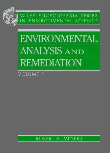 9780471117087: Encyclopedia of Environmental Analysis and Remediation, 8 Volume Set (Wiley Encyclopedia Series in Environmental Science)