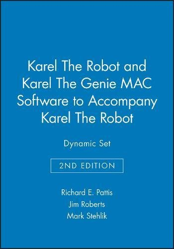 9780471117339: Karel the Robot: Gentle Introduction to the Art of Programming