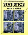 9780471117407: Statistics for Business and Economics: Student Solutions Manual