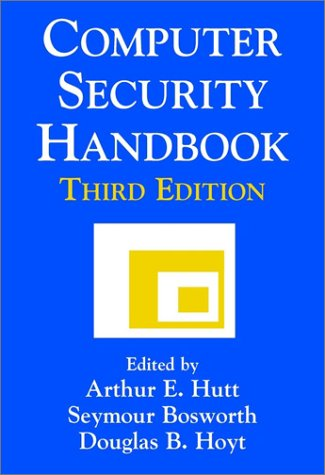 9780471118541: Computer Security Handbook