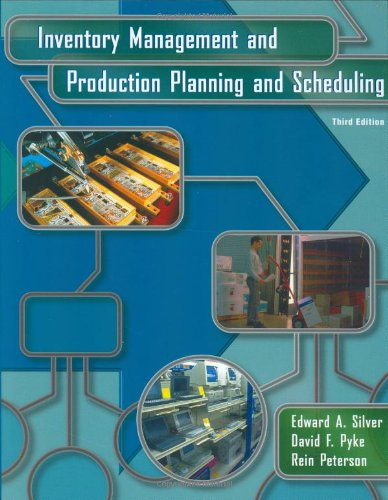 9780471119470: Inventory Management and Production Planning and Scheduling
