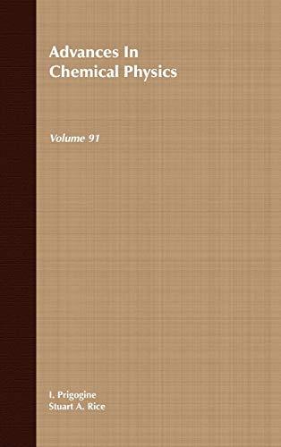 9780471120025: Advances in Chemical Physics, Vol. 91