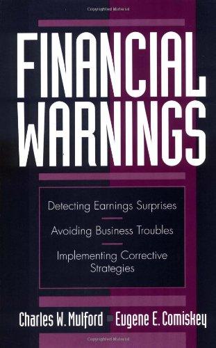 9780471120445: Financial Warnings (Accounting)
