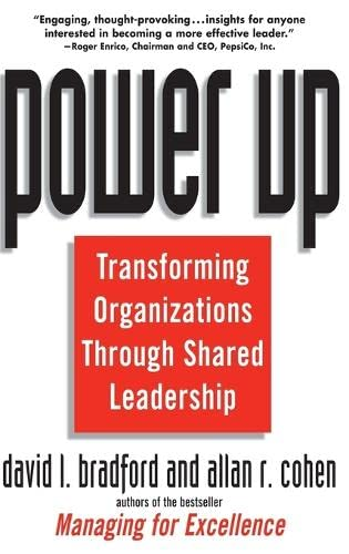 9780471121220: Power Up: Transforming Organizations Through Shared Leadership