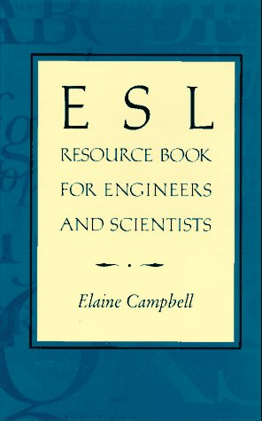 9780471121718: ESL Resource Book for Engineers and Scientists