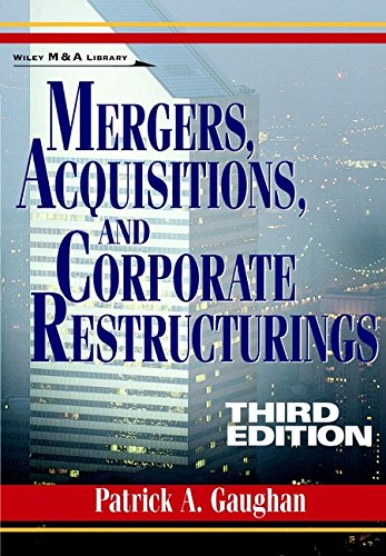 9780471121961: Mergers, Acquisitions and Corporate Restructurings (Wiley Mergers & Acquisitions Library)