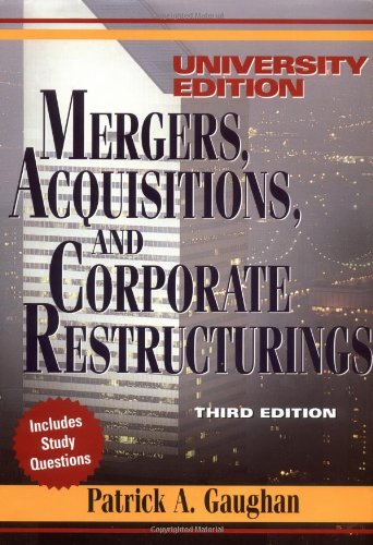 9780471121978: Mergers, Acquisitions and Corporate Restructurings: University Edition (Wiley Mergers & Acquisitions Library)