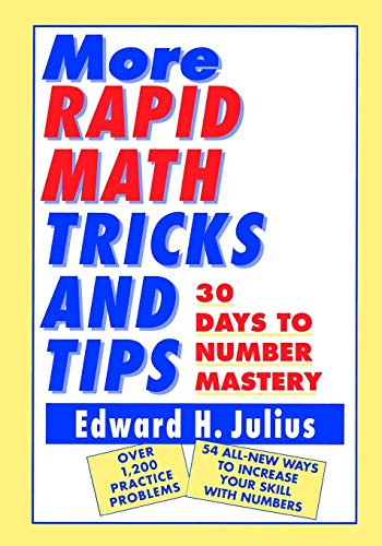 9780471122388: More Rapid Math: Tricks and Tips: 30 Days to Number Mastery