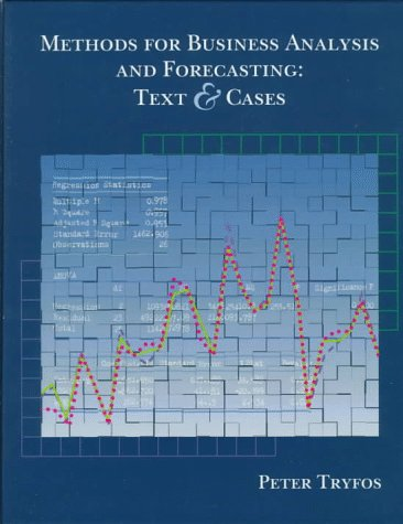 9780471123842: Methods for Business Analysis and Forecasting: Text and Cases