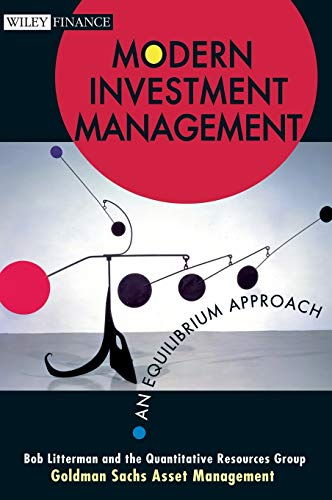 9780471124108: Modern Investment Management: An Equilibrium Approach (Wiley Finance Series)