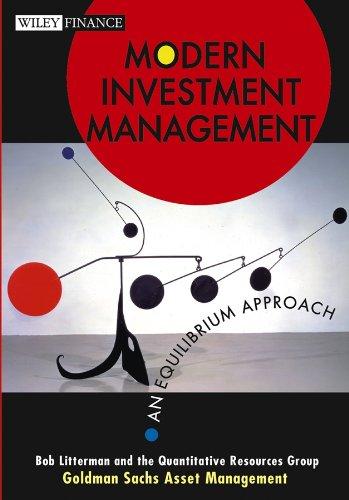 9780471124108: Modern Investment Management: An Equilibrium Approach