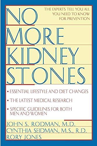 9780471125877: No More Kidney Stones